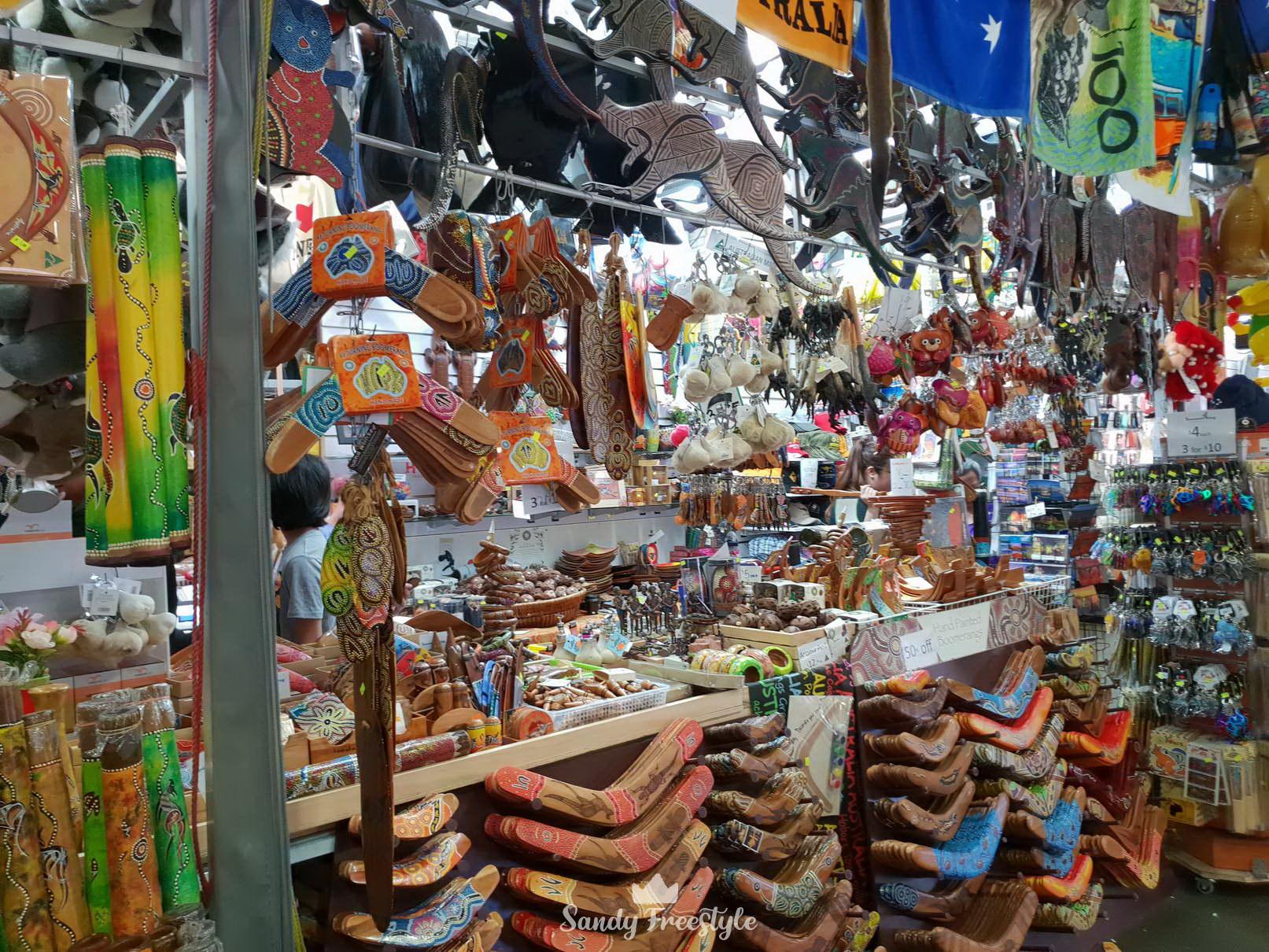 ระลึก ของฝากกลับไทย @ Paddy's Market - Sydney
