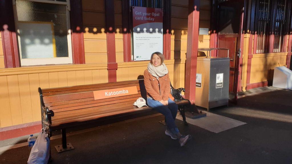 สถานีรถไฟ Katoomba