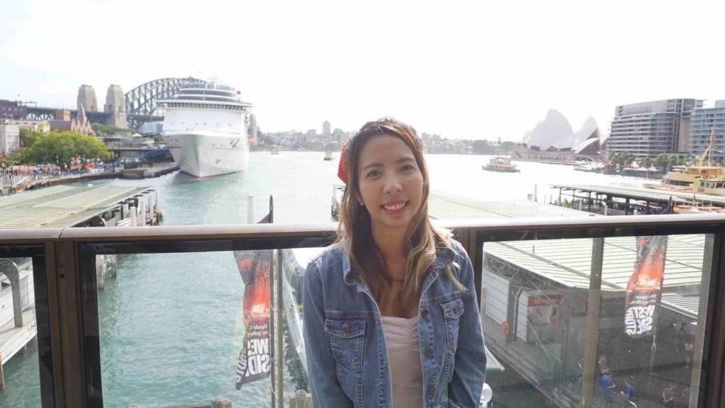 เที่ยว Sydney ท่าเรือ Circular Quay