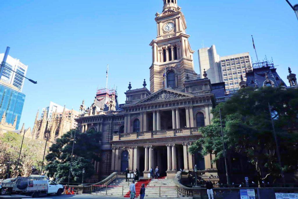 เที่ยวซิดนีย์ แวะชม Town Hall