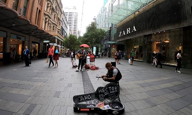 เที่ยว Sydney ชมแสดงเปิดหมวก ร้องเพลง